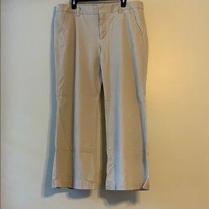 Gap 16 ankle Trouser khaki pant
